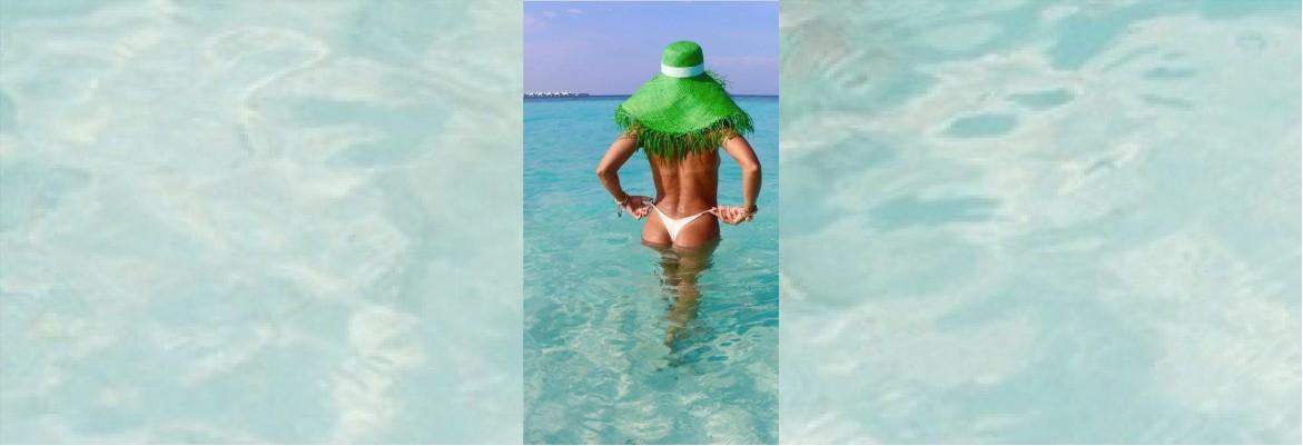 juliana paes - Juliana Paes faz topless e mostra bumbum nas Ilhas Maldivas