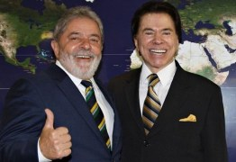SBT FOI CONTRA CANDIDATURA: Silvio Santos presidente teria Lula, revela Marcondes Gadelha em livro
