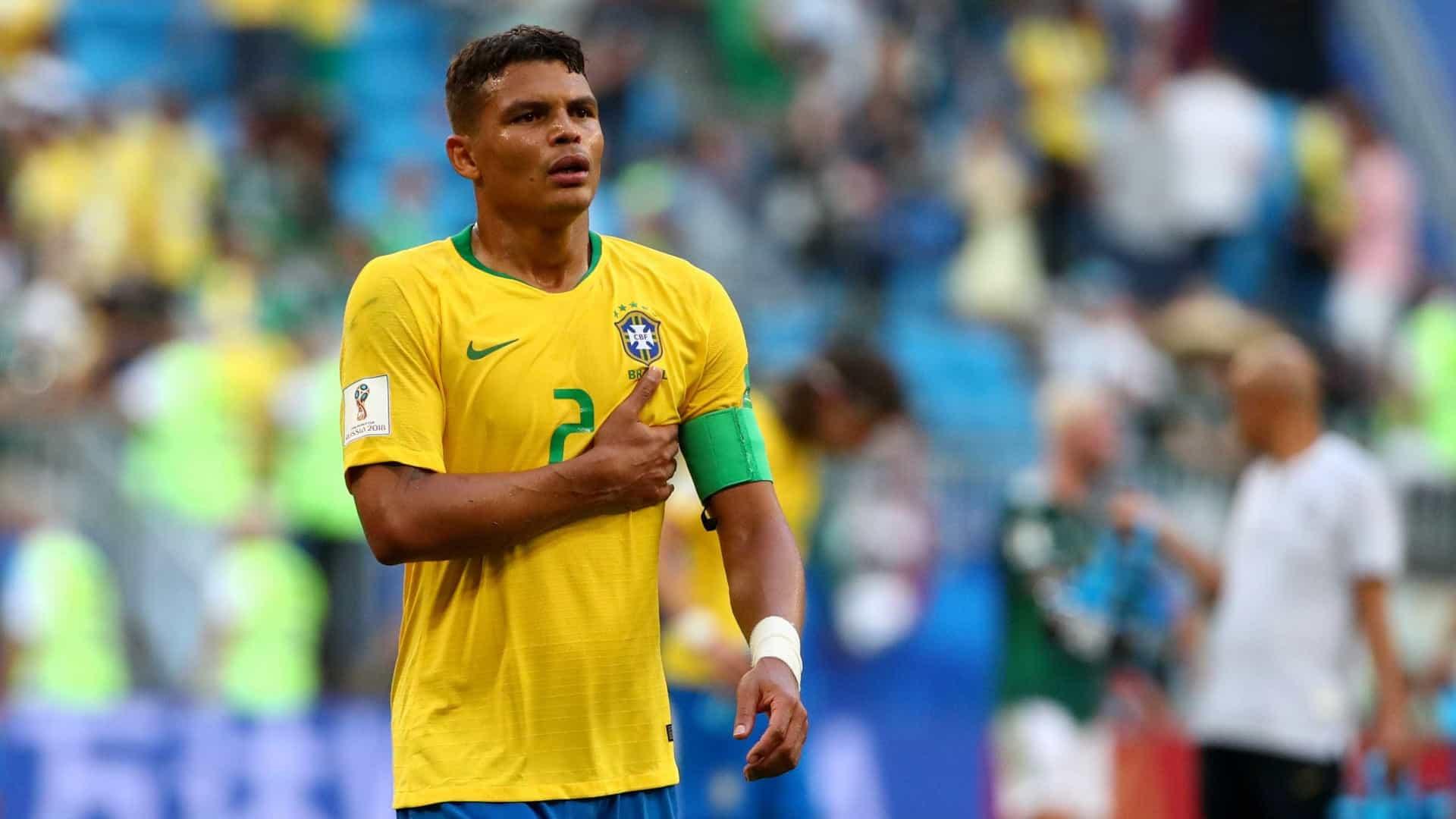 naom 5b41d976e8c1e - Pela 33ª vez na carreira, Thiago Silva será o capitão da seleção contra Venezuela