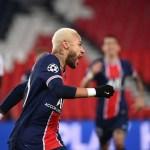 neymar - Neymar marca de pênalti e PSG vence Leipzig na Champions League