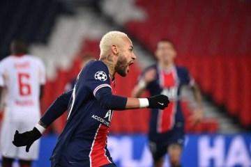 Neymar marca de pênalti e PSG vence Leipzig na Champions League