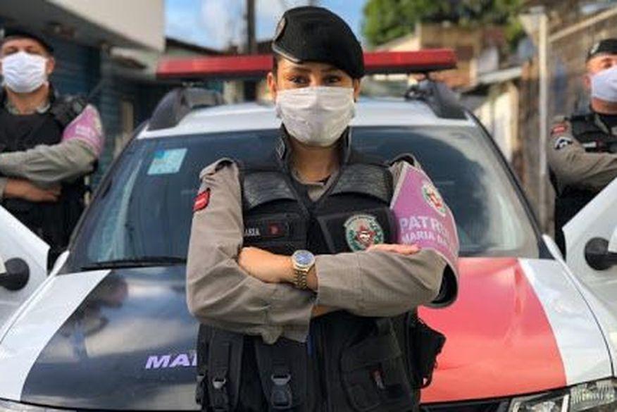 patrulha maria da penha - Patrulha Maria da Penha atendeu cerca de 5 mil mulheres vítimas de violência doméstica em mais de um ano na Paraíba