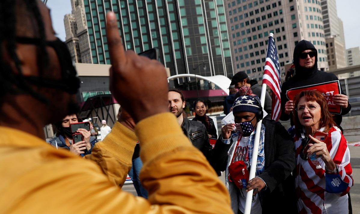 tensão - EUA: polícia da Filadélfia apura suposto plano para atacar local de contagem de votos