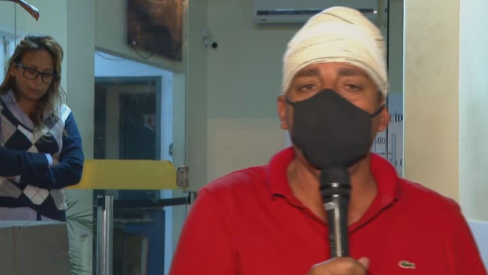 vereador 1  - CAMPANHA EM BAR: Vereador Zico Bacana é baleado na cabeça: 'Foi tentativa de homicídio'