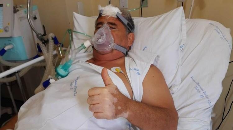 """whatsapp image 2020 11 27 at 13 28 18 - Empresário cajazeirense grava vídeo dentro de hospital para alertar sobre gravidade da Covid-19: """"se cuidem, por favor!""""; assista"""