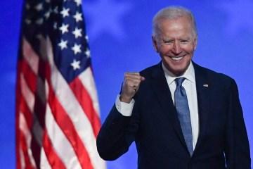 x90351647 TOPSHOTDemocratic presidential nominee Joe Biden gestures after speaking during election.jpg.pagespeed.ic .dfWJMhu568 - Biden anuncia volta dos EUA ao acordo do clima de Paris e fim da construção do muro - Veja outras medidas