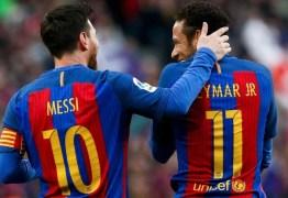 """Neymar sobre Messi: """"O que mais quero é voltar a jogar com ele"""""""