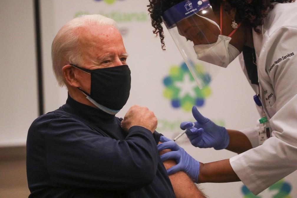 2020 12 21t202540z 1618865465 rc2wrk958o5a rtrmadp 3 usa biden - Joe Biden recebe 1ª dose de vacina contra a Covid-19
