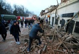 Região da Croácia é atingida por terremoto deixando mortos e feridos