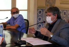 João Azevêdo e Cícero Lucena discutem ações para enfrentamento da pandemia