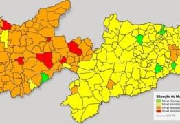 Plano Novo Normal: aumenta número de municípios em bandeira laranja na Paraíba