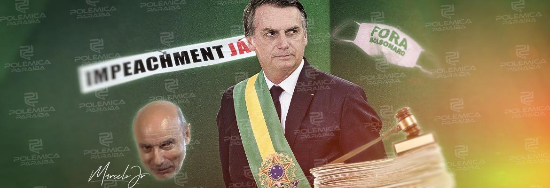 Arte Impeachment - CASO ABIN E IMPEACHMENT: Bolsonaro acumula mais de 50 pedidos de cassação por crimes de responsabilidade - VEJA OS MOTIVOS