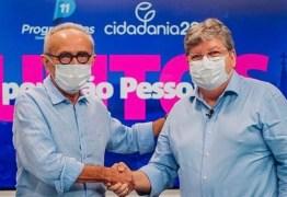 João Azevêdo discute ações conjuntas de enfrentamento da pandemia com Cícero Lucena