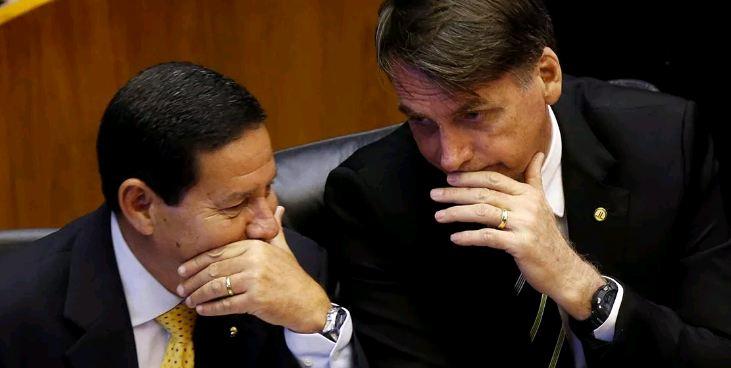 Capturar 18 - 'Faz algum tempo que nós não temos uma conversa particular', diz Mourão sobre Bolsonaro