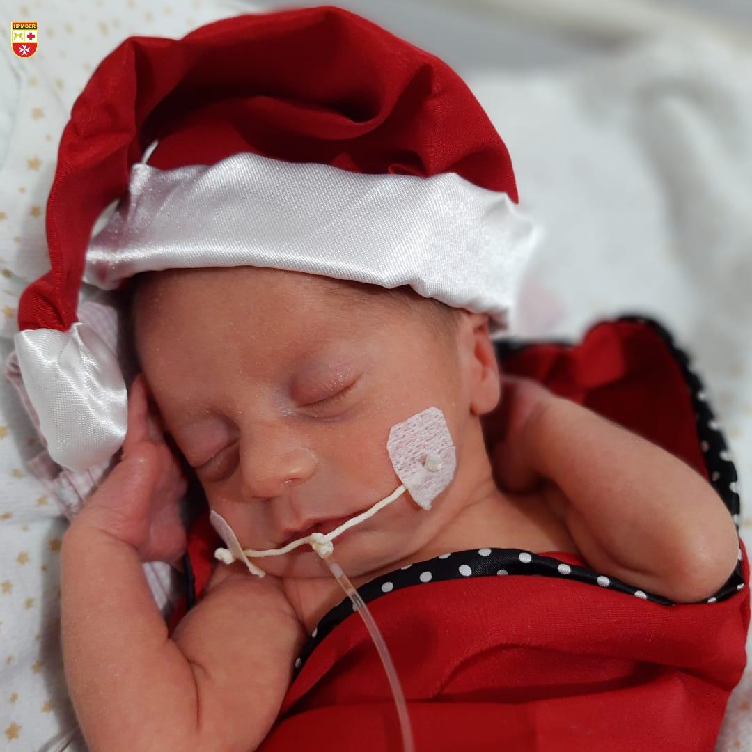 WhatsApp Image 2020 12 21 at 21.40.56 - Bebês de UTI neonatal fazem ensaio fotográfico para o Natal