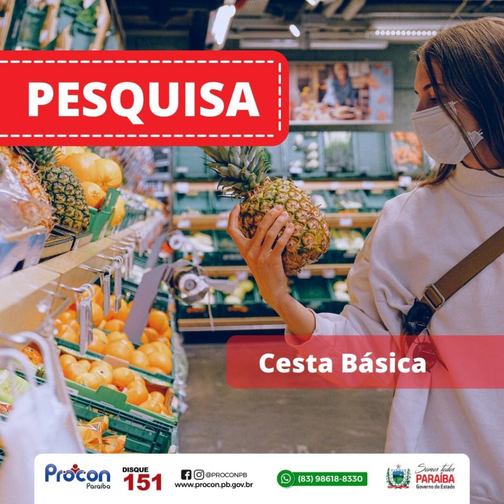 WhatsApp Image 2020 12 29 at 14.17.58 - Pesquisa do Procon-PB aponta variação de 25,14% no preço de cestas básicas em supermercados de João Pessoa