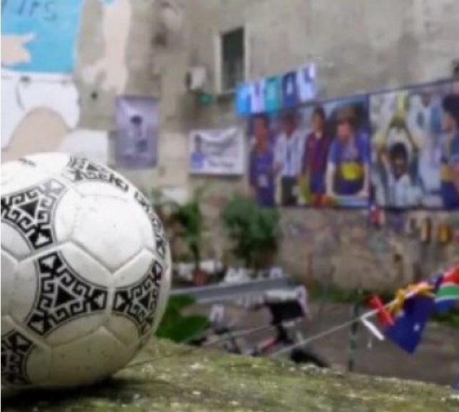 bola - Bola 'se despede' no mundo inteiro, em homenagem a Diego Maradona feita por TV argentina - VEJA VÍDEO