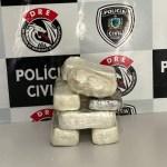 coca - Casal é preso suspeito de receber mais de 8 kg de cocaína em casa