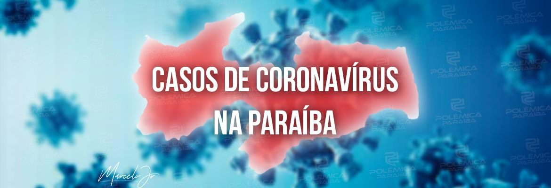 corona paraíba vermelha - Paraíba confirma 1.385 novos casos de Covid-19 e 24 óbitos nesta quinta-feira