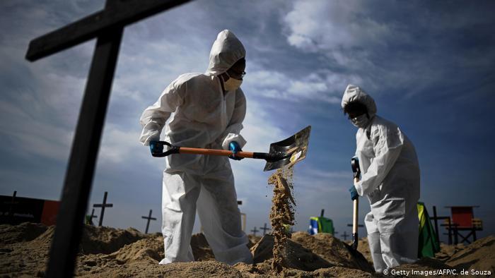 covid 3 - CORONAVÍRUS: Brasil ultrapassa marca de 180 mil mortes