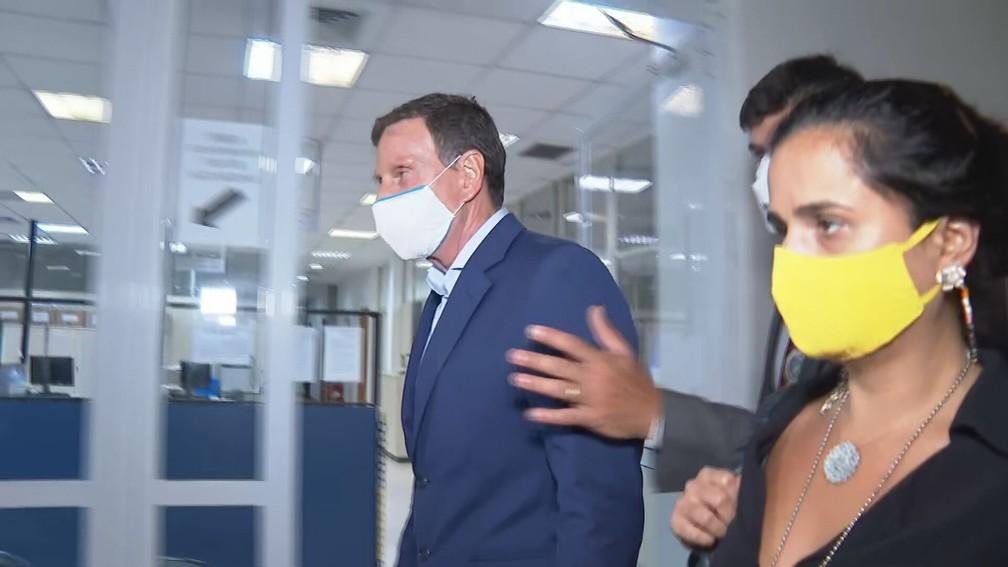 crivella 7 - Presidente do STJ converte prisão de Crivella em domiciliar, com uso de tornozeleira
