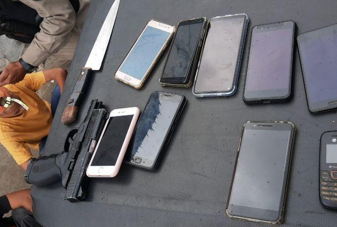 csm Policia Paraiba roubo celulares onibus 20b1dffd10 - Passageiros de ônibus são vítimas de assalto em JP