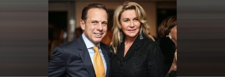doria e esposa - Após decreto impondo restrições em São Paulo, Doria viaja para Miami, diz revista