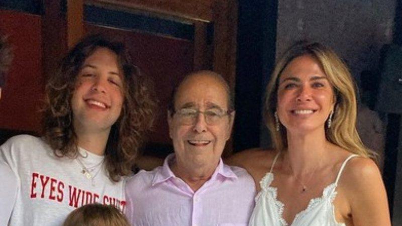 familiagimenez widelg - LUTO: Pai de Luciana Gimenez, João Alberto Morad morre aos 85 anos