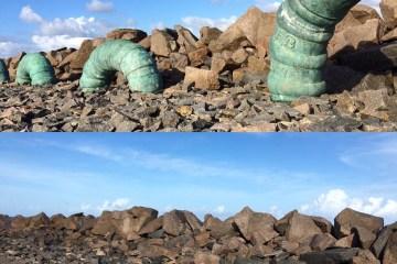 foto escultura - Obras de Francisco Brennand são furtadas do Parque das Esculturas, no Recife