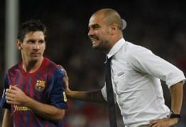 Messi elogia Guardiola e aumenta rumores sobre transferência ao Manchester City