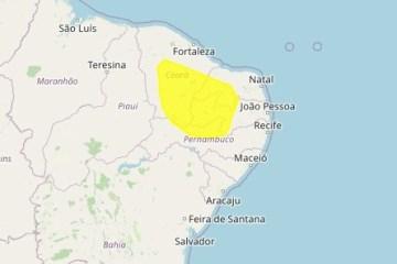 Mais de 100 cidades na Paraíba tem alerta de perigo potencial para baixa umidade, afirma Inmet