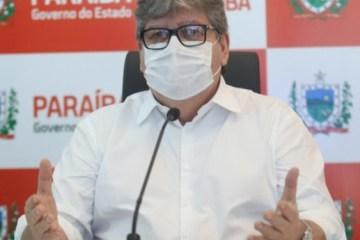 COMBATE AO CORONAVÍRUS: João Azevêdo publicará novo decreto com medidas mais rígidas