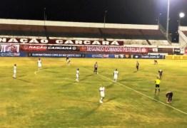 Atlético-BA e Botafogo-PB ficam no empate no primeiro duelo da pré-Copa do Nordeste
