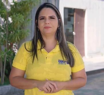 karla pimentel - Prefeita eleita do Conde, Karla Pimentel anuncia nomes dos secretários de Administração, Saúde, Planejamento e Ação Social - CONFIRA NOMES