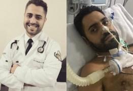 Médico volta ao trabalho após passar 59 dias internado com covid-19