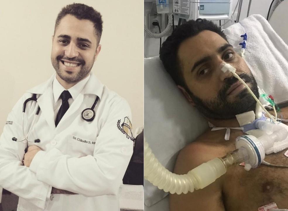 medico sao paulo - Médico volta ao trabalho após passar 59 dias internado com covid-19