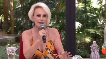 naom 5b5605af762f8 - Ana Maria Braga desmente boatos de aposentadoria e brinca: 'Não levo cara disso' - VEJA VÍDEOA