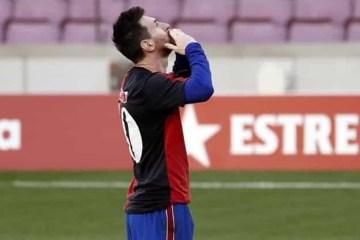 Homenagem a Maradona rende advertência e multa de R$ 3,8 mil a Messi na Espanha