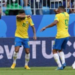 neymar comemora gol pela selecao brasileira com gesto do game counter strike 1530567877860 v2 900x506 - Com mudança no gol e retornos, Brasil enfrenta Colômbia podendo garantir liderança do grupo