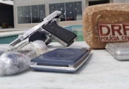 Jovem suspeito de homicídios e tráfico de drogas é preso e Pombal