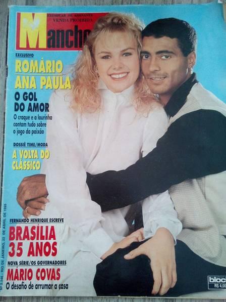 romario e paquita - Ex-paquita lança biografia em que fala do trabalho com Xuxa e lembra romance com Romário