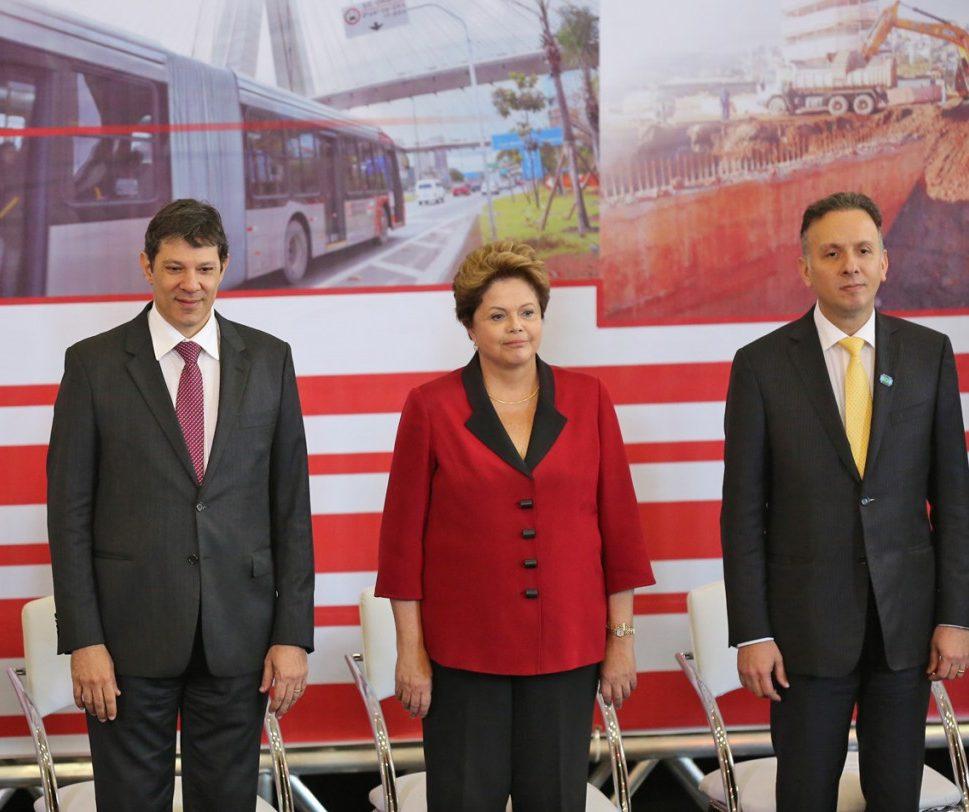 trio de ferro e1608733845649 - POR AGUINALDO: Dilma e Haddad pressionam contra MDB; PT só apoia nome para presidência da Câmara se for o paraibano - ENTENDA