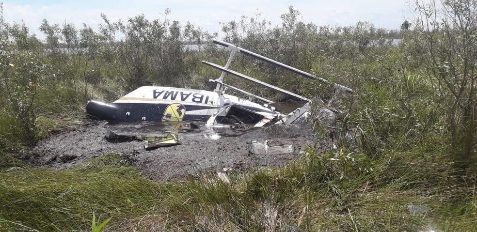 whatsapp image 2020 12 01 at 09.23.53 - Aeronave do Ibama cai no Pantanal durante combate a incêndio e piloto morre