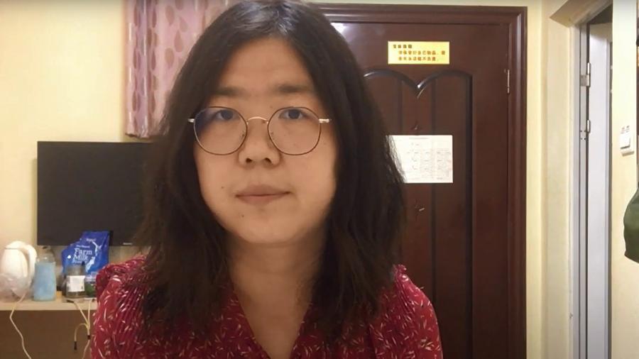 zhang - Jornalista que mostrou crise da Covid-19 em Wuhan é condenada a 4 anos de prisão