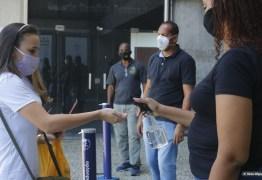 Mais de 44% dos inscritos no Enem 2020 na Paraíba faltaram o primeiro dia de prova