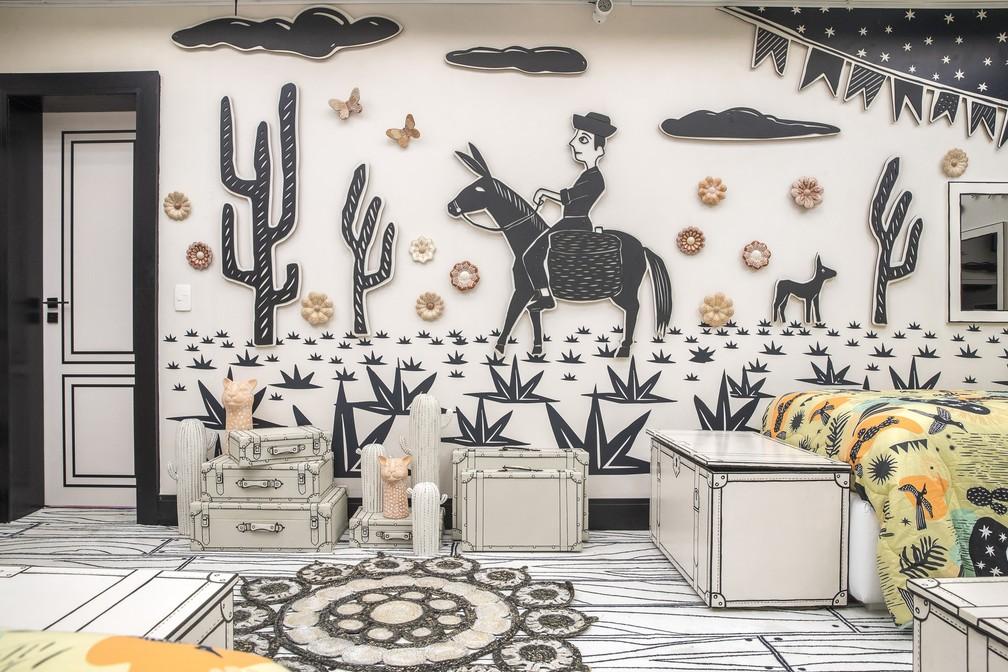 20210121 bbb21 fr 86 - Globo divulga fotos da casa do BBB21; decoração faz referência à novelas da emissora – VEJA FOTOS