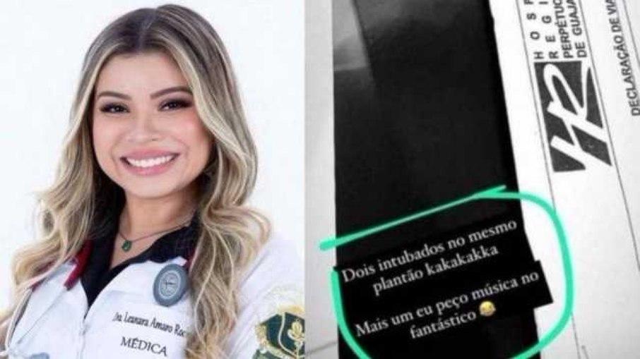 9076244pq24fuimevvieijbwv - Médica faz piada após intubar pacientes e gera revolta: 'mais um eu peço música'