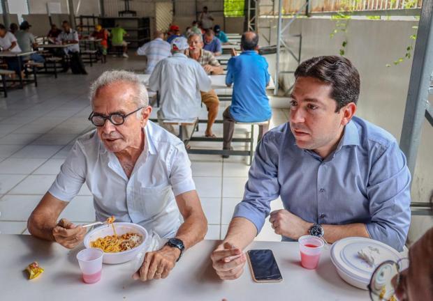 A8BB4F75 1B02 491C B427 C0584232B957 - Cícero Lucena e Felipe Leitão inauguram novo restaurante popular no Centro de João Pessoa, nesta segunda-feira