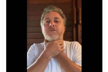 """Capturar.JPGee  - Luciano Huck convoca panelaço e critica governo Bolsonaro: """"O Brasil está sufocado. É um absurdo!"""" - VEJA VÍDEO"""