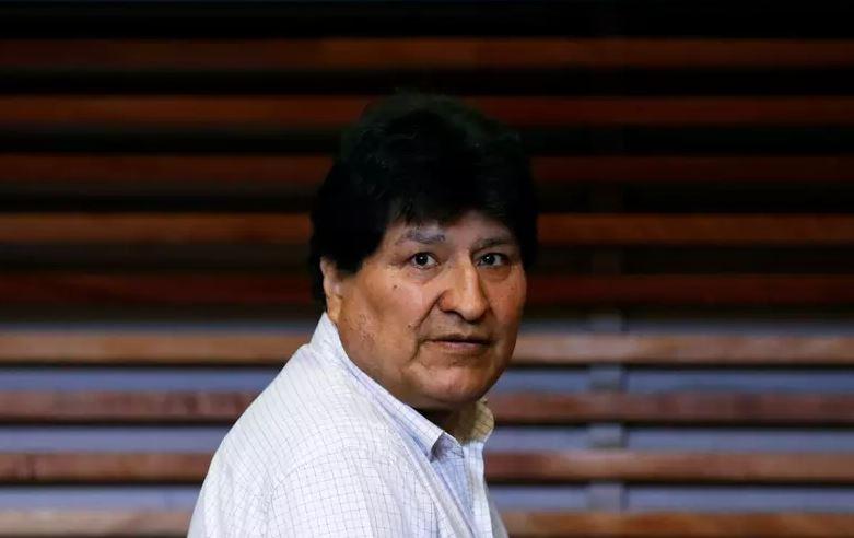Capturar.JPGo  - Ex-presidente boliviano Evo Morales é diagnosticado com Covid-19